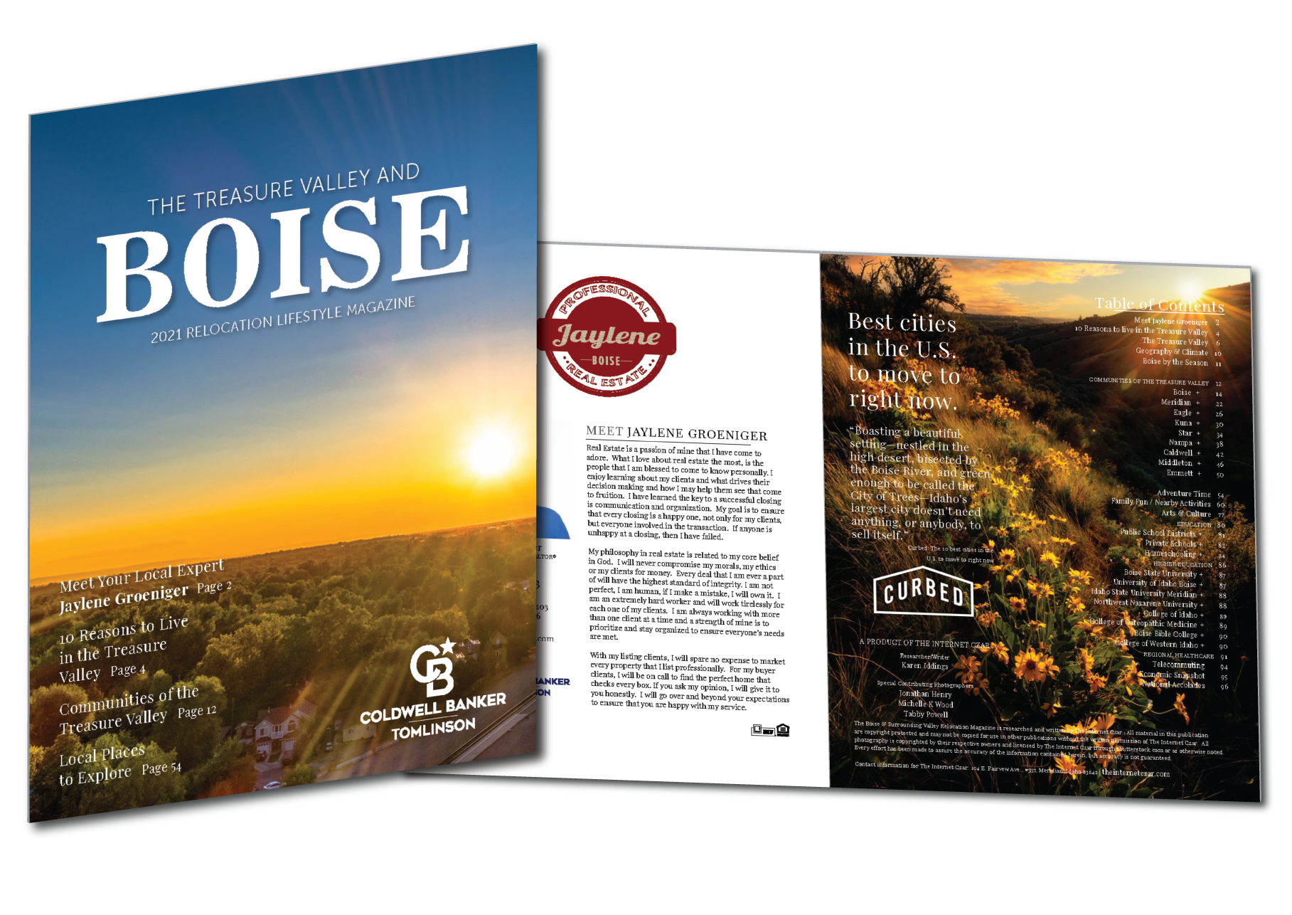 2021 Boise Relocation Lifestyle Magazine